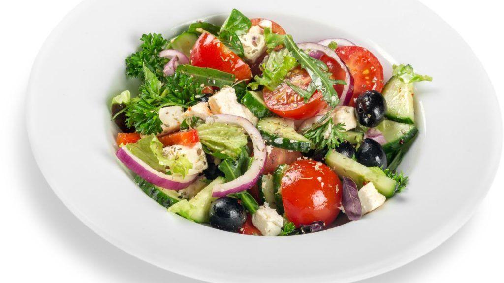 Red Lobster garden salad