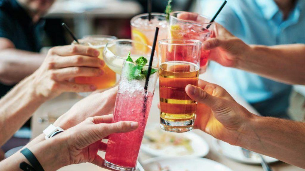 Vegan drinks at Red Lobster
