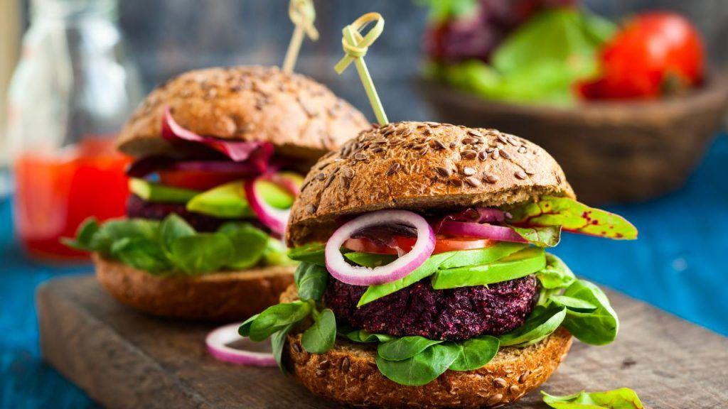 Red Robin vegan burger