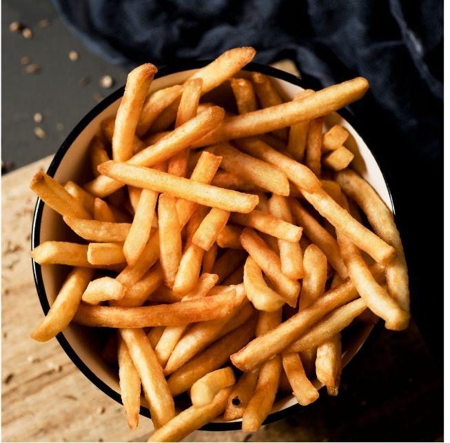 Red Robin vegan fries
