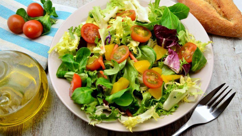 Vegan salads at Cracker Barrel