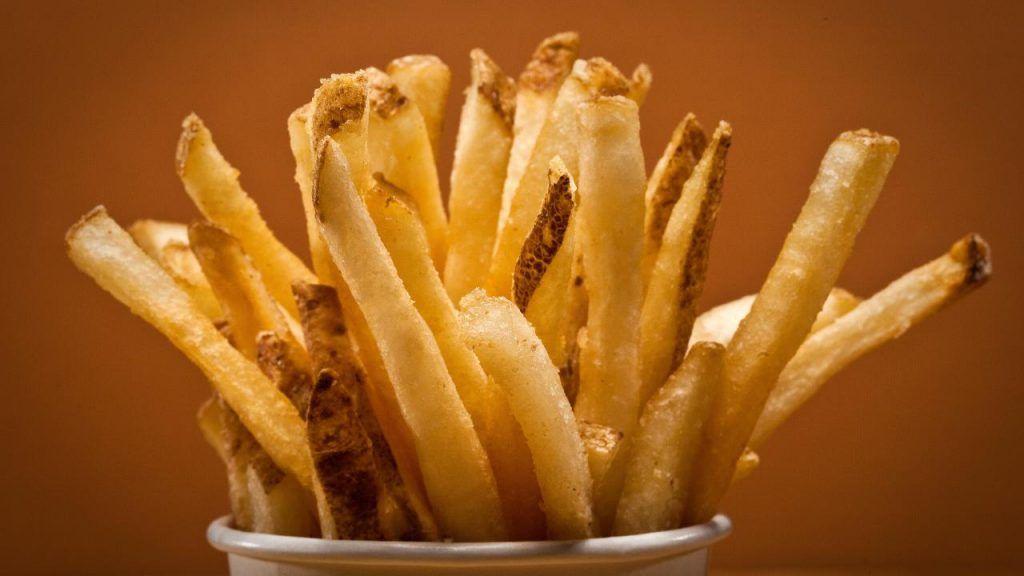Five Guys vegan fries