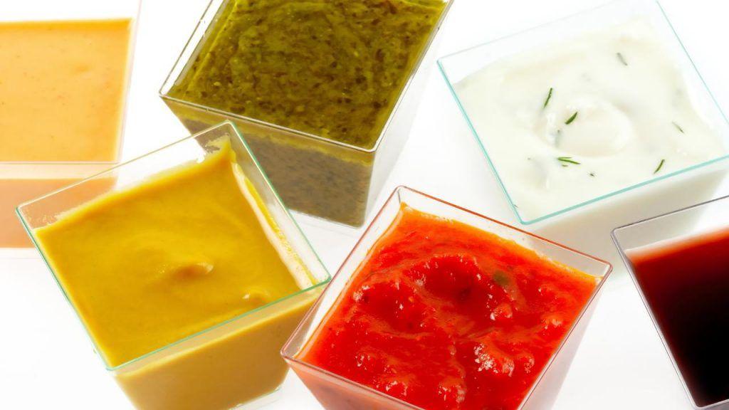 Five Guys vegan sauces