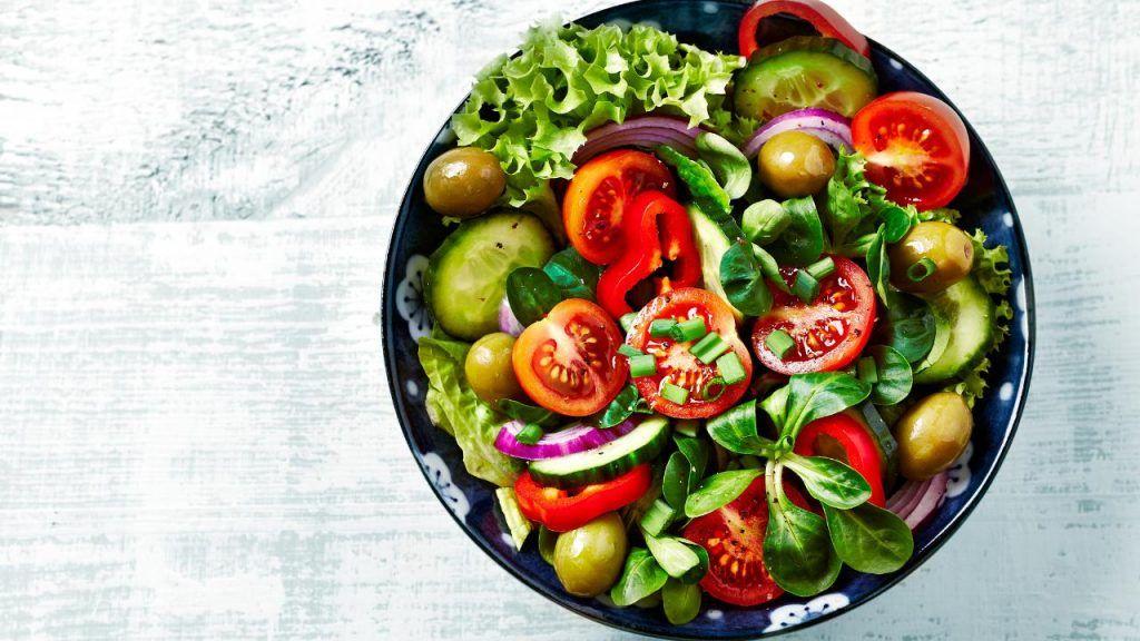 Jack in the Box vegan salad