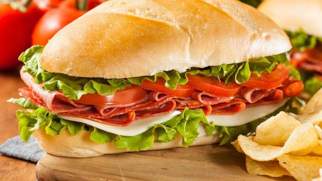 Jimmy John's sandwich