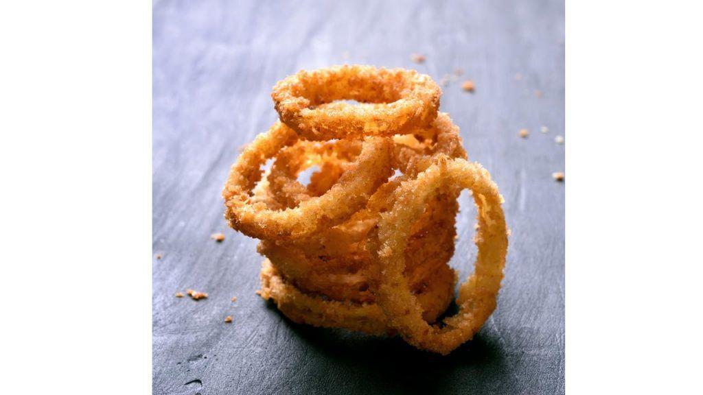 Vegan onion rings at Sonic