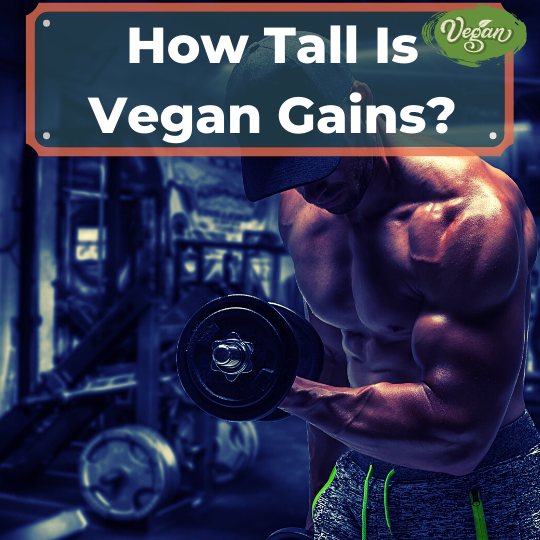 How Tall Is Vegan Gains