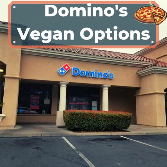 Domino's vegan options