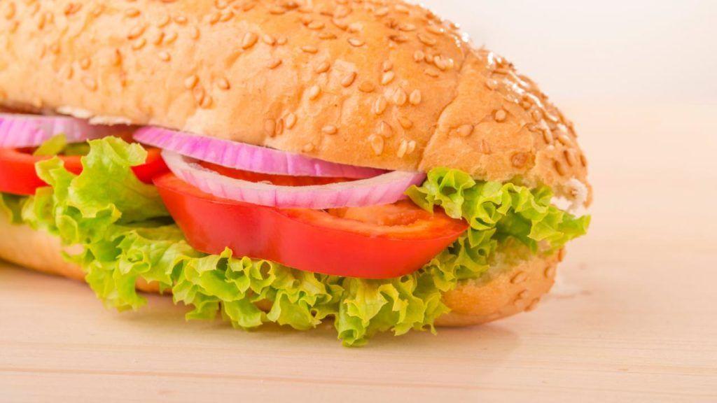 Domino's vegan sandwich