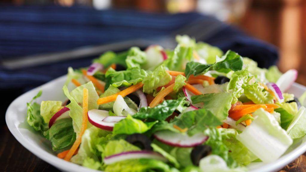 Vegan Garden Salad at Domino's