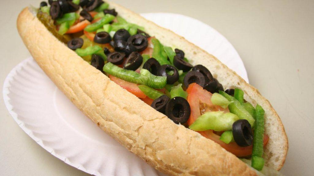 Vegan fillings at Subway