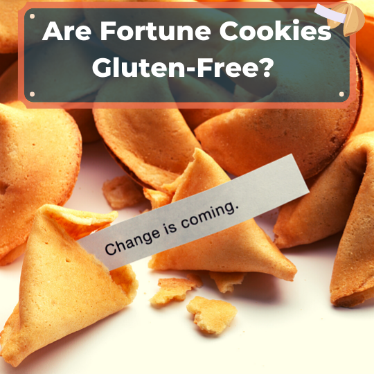 Are fortune cookies gluten-free