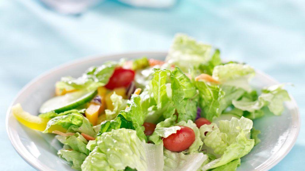 Burger King vegan salad