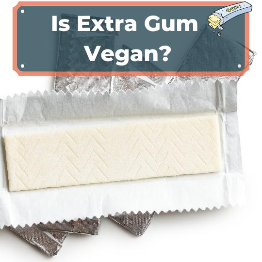 Is Extra Gum Vegan