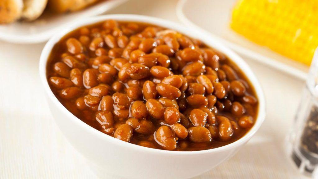 KFC vegan beans