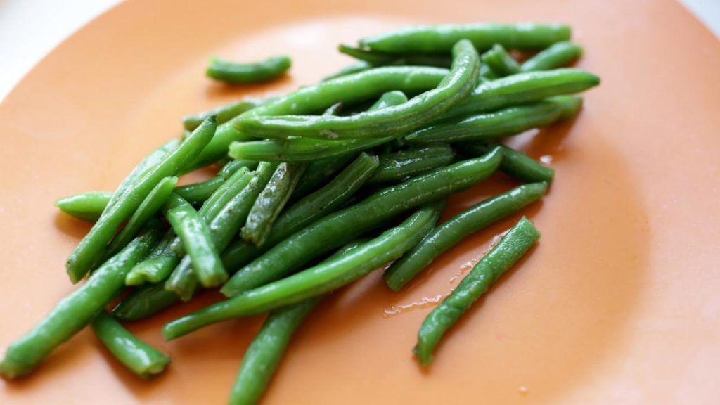 KFC vegan green beans