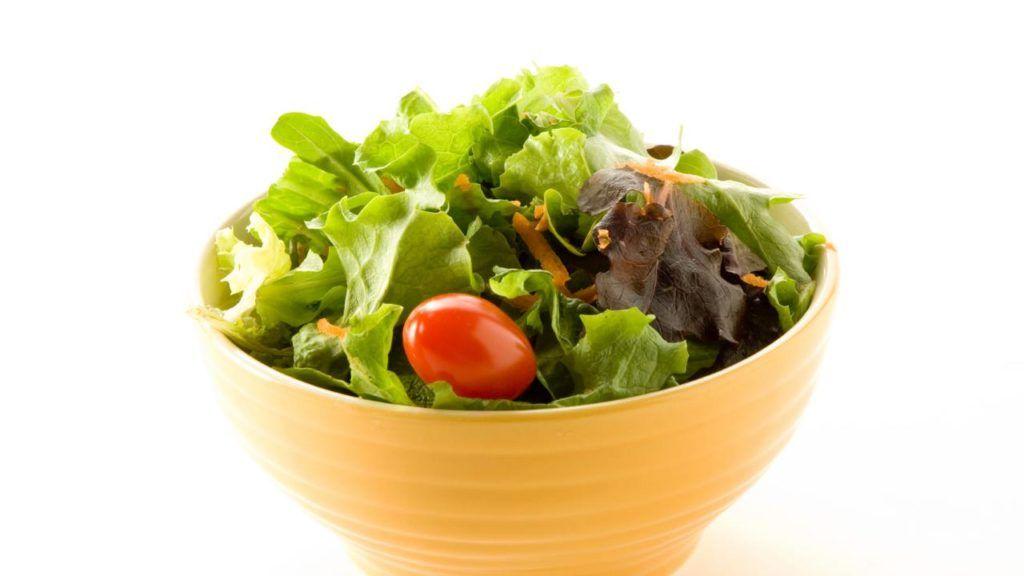 KFC vegan salad