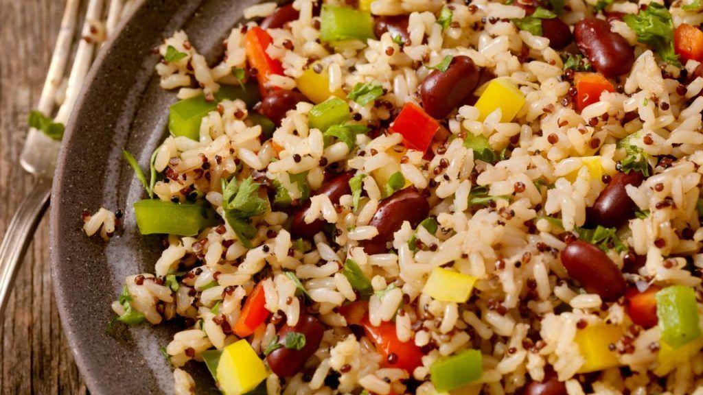 Panera vegan rice bowl