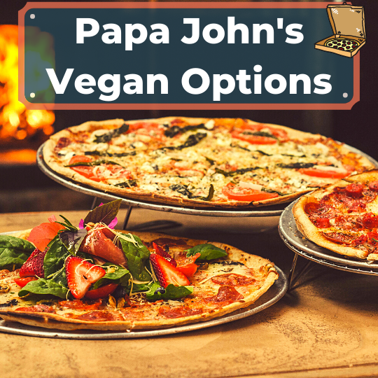 Papa John's vegan options