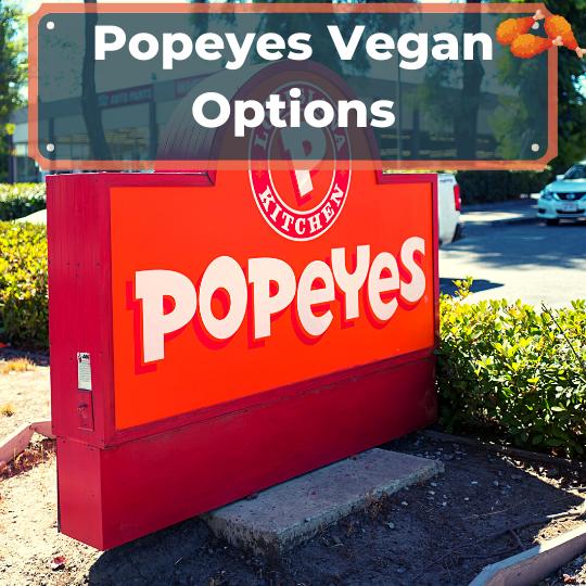 Popeyes vegan options