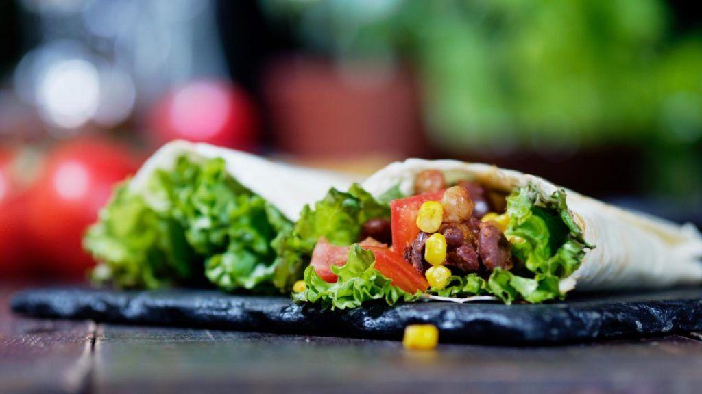 Taco Bell vegan burrito