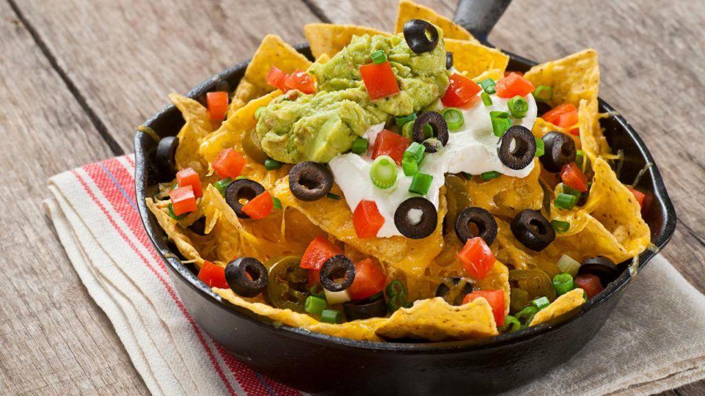 Taco Bell vegan nachos