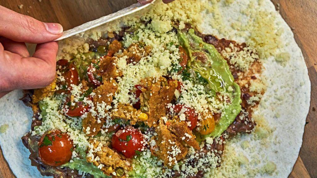 Taco Bell vegan quesarito