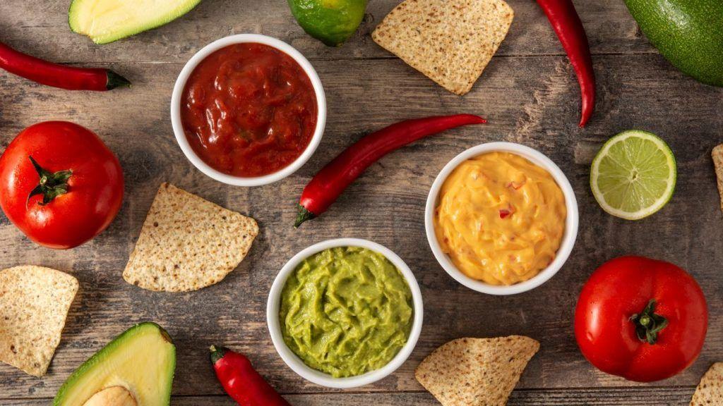 Taco Bell vegan sauces