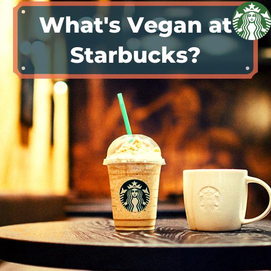 Vegan at Starbucks