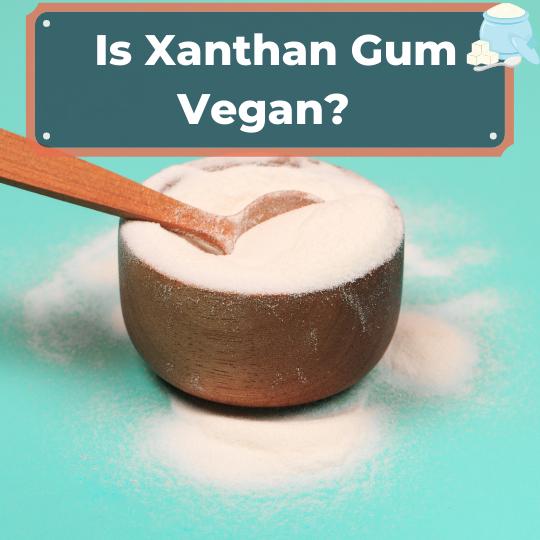 Is Xanthan Gum Vegan