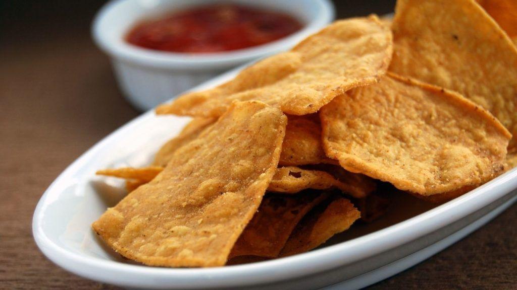 Plant-based tortilla chips