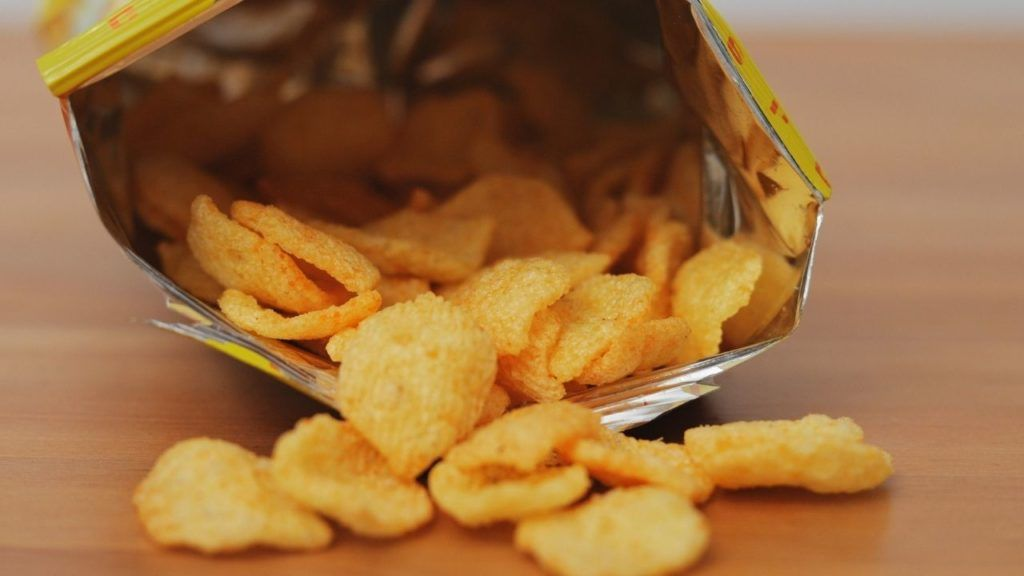 Vegan spicy chips